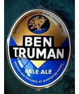 Ben Truman Pale Ale Beer Sign Picture British Pub Souvenir Vintage Colle... - $39.95