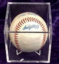 1985 Kansas City Royals World Series Champions Signed Baseball w/CoA! - $470.25