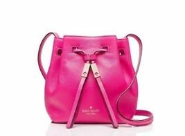 NWT KATE SPADE Tiny Cooper Pink Leather Bucket Bag Original - $139.99