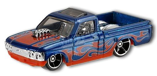 Hot Wheels Custom /'72 Chevy LUV Blue Loose Car Malaysia Base