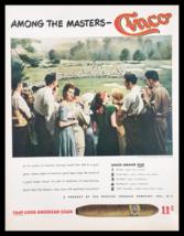 1947 Cinco That Good American Cigar Vintage Print Ad - $14.20