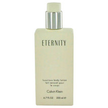 ETERNITY by Calvin Klein Body Lotion (unboxed) 6.7 oz (Women) - $50.16