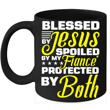 Fiance Coffee Mug Mugs Engagement Gifts For Couples - $15.95