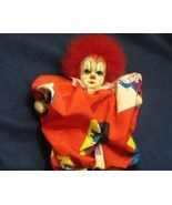 "Collectible Q-Tee 7"" Sand Filled Circus Clown  - $18.95"