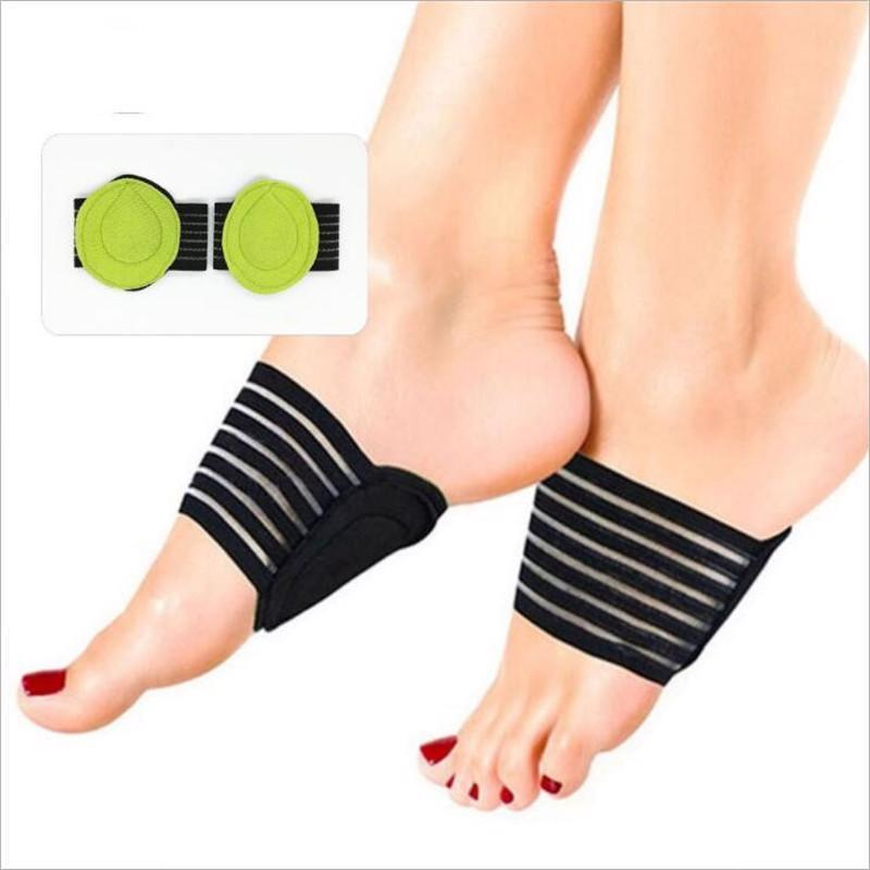 Elastic Fabric Flatfoot Cushions Insoles Foot Support Pads Orthopedic Corrector