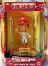 MLB HEADLINERS XL MARK MCGUIRE COMMEMORATIVE FIGURE 1998 Signed Certificate - $12.16