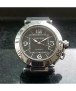 CARTIER Men's Pasha Seatimer 2790 Automatic w/Date, c.2000s Swiss Luxury... - $3,882.86