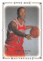 2009 2010 Upper Deck Masterpieces #MADR Derrick Rose > Chicago Bulls - $1.65