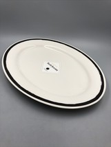 "Martha Stewart Collection Heirloom Serving Oval Platter 27""x13"" (46x33cm) NWT - $29.70"
