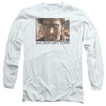 Army of Darkness Evil Dead Jack Left Town Ash Williams Long Sleeve Tee MGM167 image 1