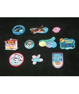 (10) Lot Mixed GIRL SCOUTS OFFICIAL Patches Badges for Sash, Vest Journe... - $19.78