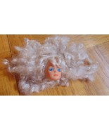 Simba Toys-Steffi Doll Head & Blonde Curly Hair-Head Only - $4.99