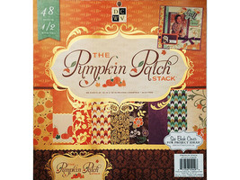 DCWV The Pumpkin Patch Stack Cardstock Paper Pad, 48 - 12x12 Sheets