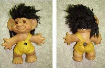 Troll Doll Vintage Toy Figure Thomas Dam Black Hair
