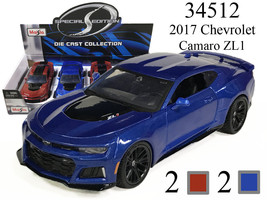 New MAISTO 1/24 - 2017 CHEVROLET CAMARO ZL1 DIECAST CAR CHOOSE COLOR - $19.50
