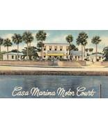 ST AUGUSTINE, Florida FL  CASA MARINA MOTOR COURT~JA Whetstone ROADSIDE ... - $6.84