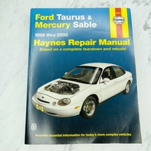 Haynes Ford Taurus & Mercury Sable Repair Manual 1996-2005 ISBN 1 56392 589 3 - $14.72