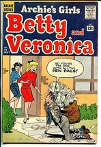Archie's Girls Betty & Veronica #91 1963-mailman cover-VG - $37.83