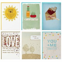 Hallmark Year of Love Greeting Card Assortment 6 Cards and 6 envelopes, ... - $21.15