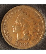 1883 Indian Head Cent VG #0354 - $4.99