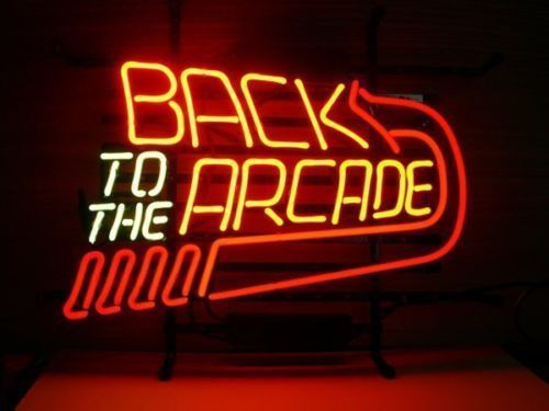 "New Pinball Game Back To The Arcade Beer Neon Sign 24""x20"" Ship From USA"