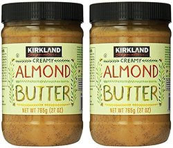 Kirkland Signature ( 2 PACK ) Creamy Almond Butter 27oz Each - $31.37