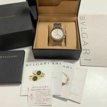 BVLGARI B-Zero1 BB42WSSDCH Chronograph White SS Auto 42mm Men's Luxury W... - $3,563.74
