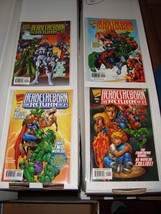 Heroes Reborn #1 - 4 Marvel Comic Book Complete Series NM Condition 1997 - $7.19