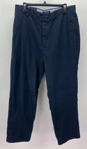 Tommy Hilfiger Men's Christopher Wide Leg Pants Navy 33x30 78C2686 - $29.69