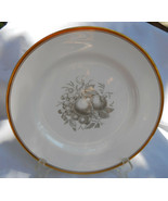 SPODE CHATHAM FRUIT DINNER PLATE S NO 6 GOLD TRIM Y5280 GRAY - $79.19