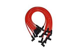 A-Team Performance Red Silicone Spark Plug Wires Compatible with SBC for Marine