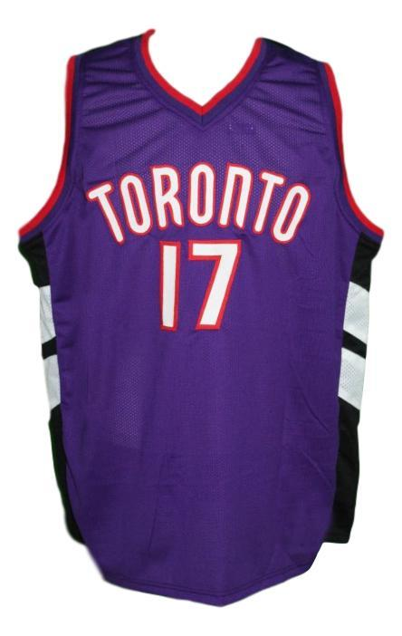 P. miller  17 toronto custom basketball jersey   1