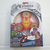 Marvel Avenger Iron Man Fidget Spinner - NIB - $3.99