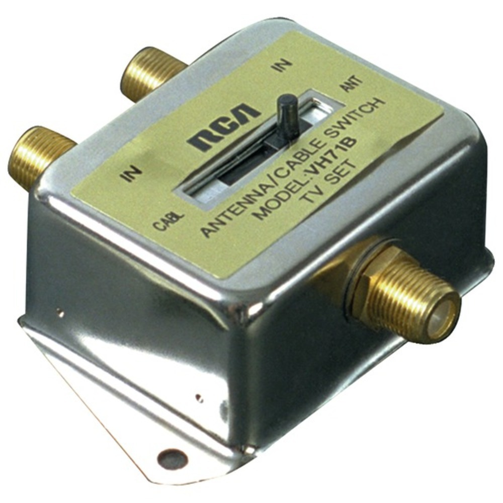 Primary image for RCA VH71R 2-Way A/B Coaxial Cable Slide Switch