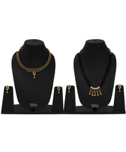 Womens Trendz Combo Pack of Two Traditional, Ethnic and Antique 24K Gold Plated  - $45.00