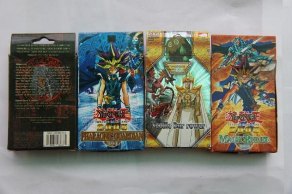 Yu-Gi-Oh 4 Pack Trading Card Game