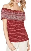 Sanctuary Misha Women's Printed Off-the-shoulder Top, Bandana Red/White, XS - €30,96 EUR
