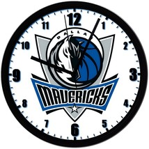 "Dallas Mavericks LOGO Homemade 8"" NBA Wall Clock w/ Battery Included - $23.97"