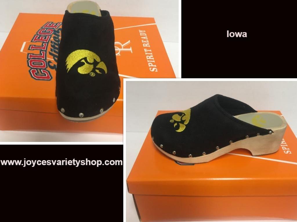 Iowa shoes web collage