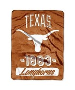 The Northwest Company 1 Pc, Texas Longhorns Blanket 46x60 Raschel Vasity... - $56.25