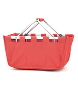 Viv and Lou Coral Market Tote with Durable Removable Aluminum Frame - $35.95
