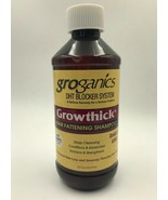 GROGANICS DHT BLOCKER SYSTEM GROWTHICK HAIR FATTENING SHAMPOO 8oz - $10.88