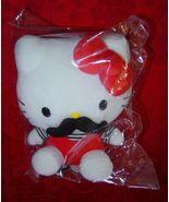 Hello Kitty Mustache Plush - $10.00
