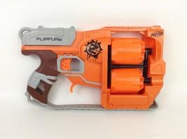 Nerf Zombie Strike Flipfury Double Revolver 12 Shot Zombie Blaster Gun H... - $22.23