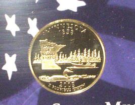 2005-S 25 Cent Proof State Quarter - Minnesota - George Washington - $5.95