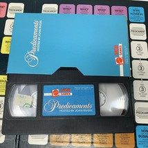 Vintage Mattel VCR Game Predicaments Hosted by Joan Rivers 1986 USA  - $29.99