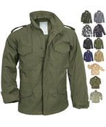 Camo Military M-65 Field Coat Camouflage Army M65 Tactical Uniform Jacke... - $82.99+