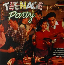 """Teenage Party (various artists) (Album Cover Art) - Framed Print - 16"""" x... - $51.00"""