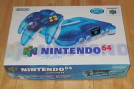 NINTENDO 64 Console Japan Clear Blue COLLECTORS ITEM Rare New - $359.22