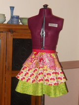 Retro Apron with a Modern Flare! - $20.00